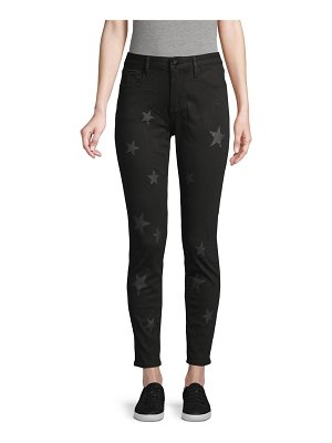 Driftwood Star-Print Ankle Jeans