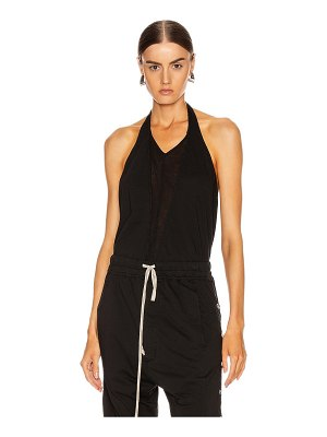 DRKSHDW by Rick Owens double v halter top