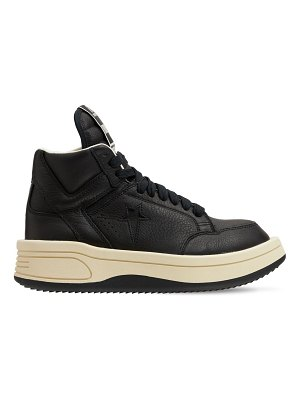 DRKSHDW X CONVERSE Turbowpn leather high top sneakers