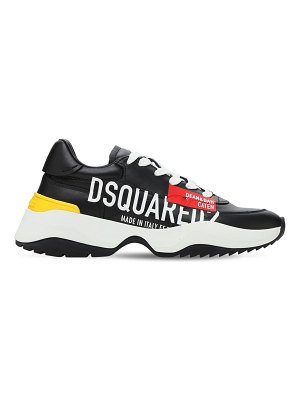 DSQUARED2 40mm d24 leather sneakers