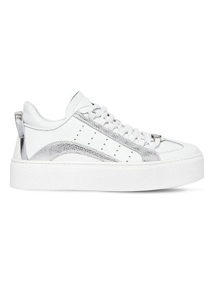 DSQUARED2 40mm new 551 leather sneakers