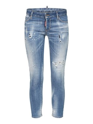 DSQUARED2 Jennifer distress denim skinny jeans
