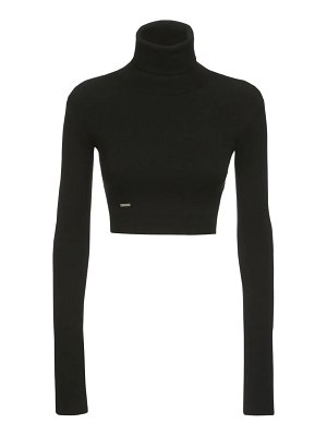 DSQUARED2 Knit viscose blend turtleneck sweater