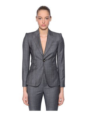 DSQUARED2 Wool prince of wales suit
