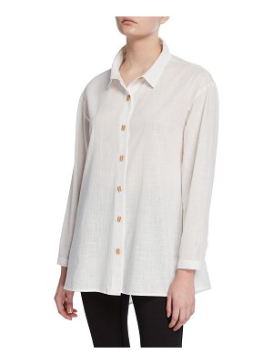DUBGEE by Whoopi Button-Front Easy Shirt