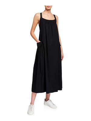 DUBGEE by Whoopi Rose Sleeveless Poplin Dress