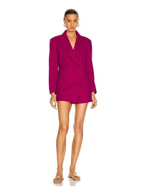 DUNDAS double breasted blazer dress