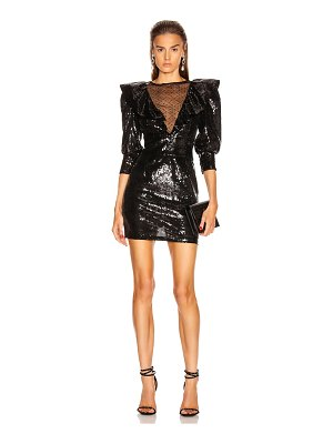 DUNDAS sequin mini dress