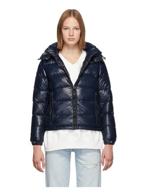 Duvetica navy down jabbah jacket