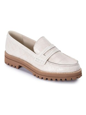 DV by Dolce Vita aubree croc embossed loafer