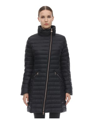 EA7 EMPORIO ARMANI Long mountain puffer jacket
