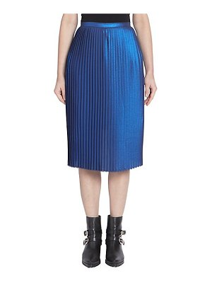EACH x OTHER metallic accordion pleat skirt