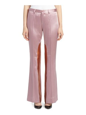 EACH x OTHER Satin Colorblock Trousers