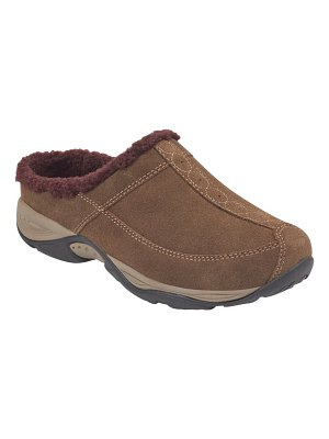 Easy Spirit exchange faux shearling trim clog