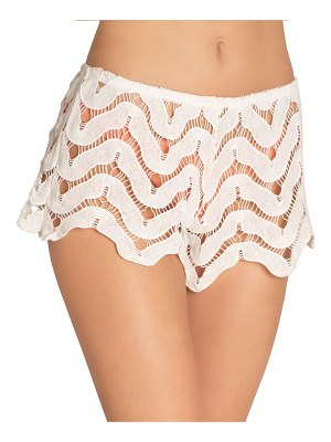 Eberjey Sam Lace Coverup Shorts