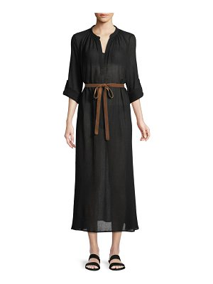 Eberjey Summer of Love Haven A-Line Maxi Coverup Dress