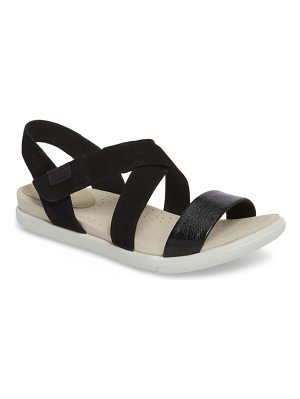 ECCO damara cross-strap sandal