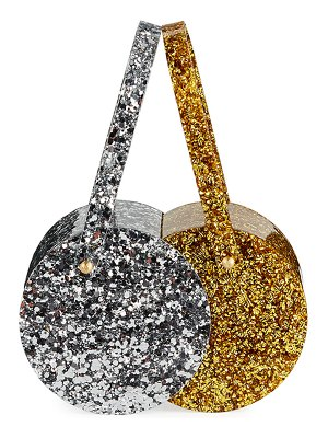 Edie Parker Double-Shot Acrylic Clutch Bag