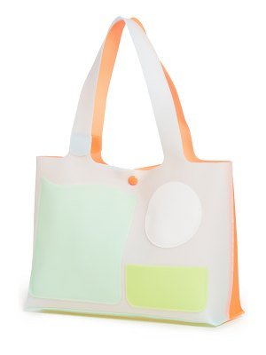 Edie Parker flower by  jelly tote