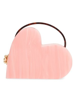 Edie Parker heartly acrylic bag