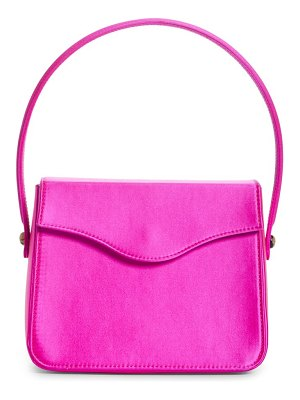 Edie Parker hot box satin bag