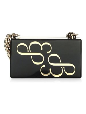 Edie Parker Logo Box Clutch