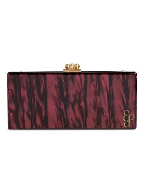 Edie Parker medium slim acrylic clutch