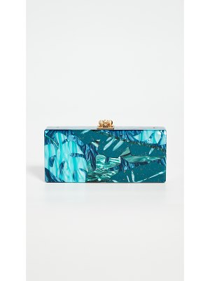 Edie Parker medium slim clutch with chain
