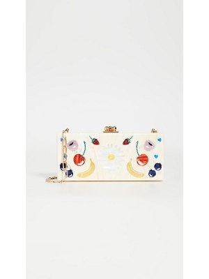Edie Parker medium slim clutch