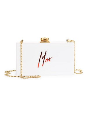 Edie Parker slim jean mrs. box clutch