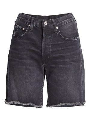 Edwin cai high waist denim shorts