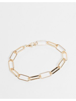 EGO chain link anklet in gold