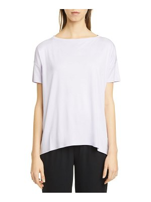 Eileen Fisher boat neck short sleeve t-shirt