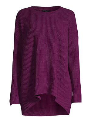 Eileen Fisher boxy high-low sweater