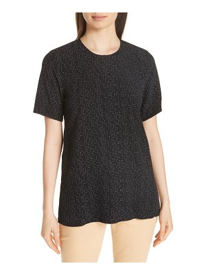 Eileen Fisher boxy print top