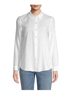 Eileen Fisher collared button-down shirt