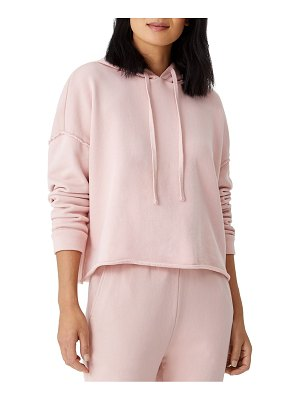 Eileen Fisher cropped boxy hoodie