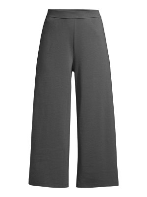 Eileen Fisher cropped wide leg pant