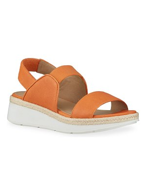 Eileen Fisher Dash Slingback Wedge Sandals