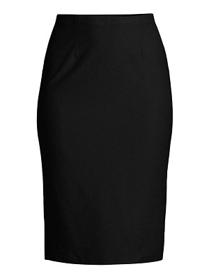 Eileen Fisher high-waist pencil skirt