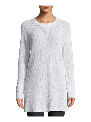 Eileen Fisher Linen Cotton Slub Tunic Sweater
