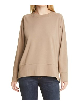 Eileen Fisher long sleeve organic stretch cotton top