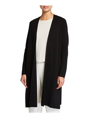 Eileen Fisher Long Ultrafine Merino Cardigan