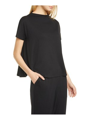Eileen Fisher mock neck top