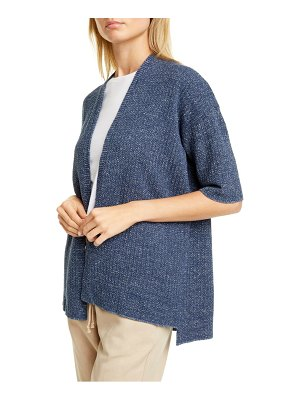 Eileen Fisher organic cotton blend cardigan