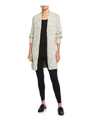 Eileen Fisher Organic Cotton Twist Long Cardigan