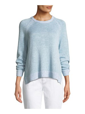 Eileen Fisher Organic Linen/Cotton Slub Sweater