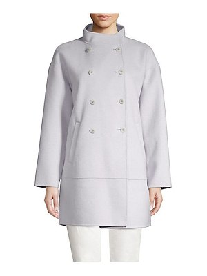 Eileen Fisher oversized double breasted coat