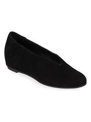 Eileen Fisher Patch Suede Ballet Flats