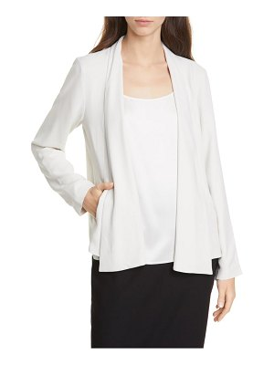 Eileen Fisher silk jacket